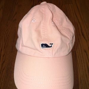 Pink Vineyard Vines baseball hat